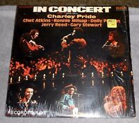 In Concert Double LP Album w/Host Charley Pride - Vinyl, 1975 RCA Records