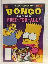Bongo Comics FCBD 2008 (The Simpsons) VF+ 1st Print Bongo Comics