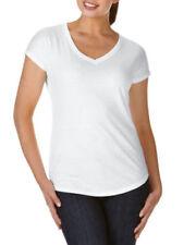 Maglie e camicie da donna in misto cotone con scollo a v taglia XS