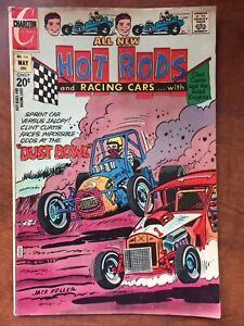 Hot Rods & Racing Cars # 114 Charlton Comic 1972 VG+