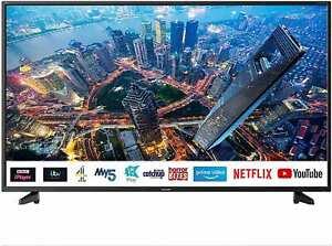 Sharp 4T-C55BJ2KE2FB Black 55 Inch 4K UHD HDR Smart TV with Freeview Play