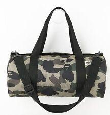 A Bathing Ape Camouflage Duffle gym shoulder Two Way Bag Magazine Gift item