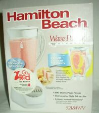 Hamilton Beach Wave Power 12 Speed Blender 52184-NEW IN BOX