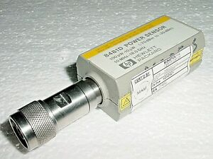 HP Agilent RF Power Meter 8481D Sensor 10MHz-18GHz Recently Calibrated