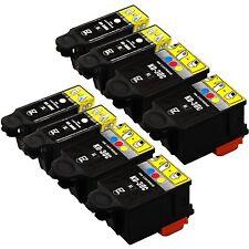 8PK InkJet for  Kodak ESP 1.2  C310 Printer 30 XL Black & Color Ink Cartridges