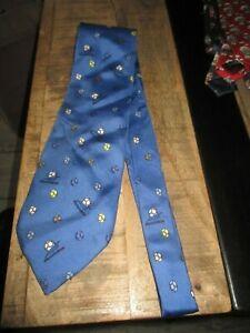 Ancienne cravate-Spéciale coupe du monde de foot 1998-100% soie-1994
