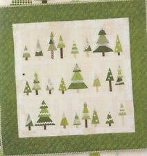 Frosty's Tree Farm - foundation paper pieced quilt PATTERN - Crabapple Hill