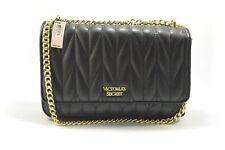 Victoria's Secret 24594183 Chevron Black Quilt Bond Street Chain Shoulder Bag
