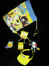 Lot 6 Spongebob toy items Squarepants Squiggly good condition Cartoon Characters