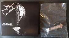 Joe Walsh AUTOGRAPHED Analog Man CD HAND SIGNED & VIP 2016 Tour Key Ring