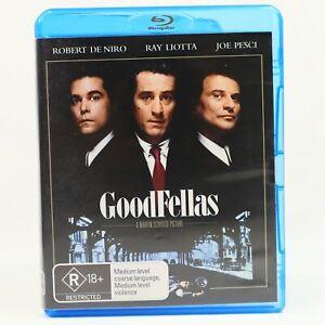 Goodfellas Gangster Crime Movie Drama Martin Scorsese Blu Ray RB Good Condition
