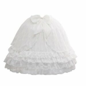 Women Tulle Skirt Wedding Bridal Bridesmaid Petticoat Lolita Skirt