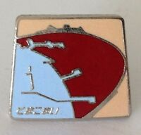 Japanese Harbour Pin Badge Rare Vintage (J1)