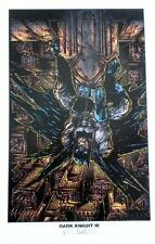 SIGNED Batman KEVIN EASTMAN Lithograph DARK KNIGHT III
