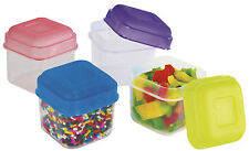 Evriholder Portion Packers 4 Piece Set 4.5 oz Storage Containers NIP