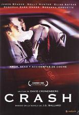 Crash NEW PAL Arthouse DVD David Cronenberg James Spader Holly Hunter E. Koteas