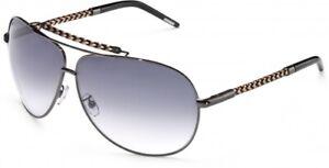Invicta IEW005 AVIATOR Sunglasses SILVER / GRADIENT GRAY +FREE Shirt