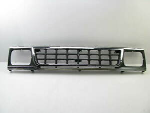 NEW AFTERMARKET Chrome / Black Insert Grille For 1990-1992 MITSUBISHI MIGHTY MAX