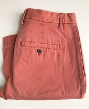 "Jack Spade Shorts, Pink Salmon, Size 30, 10"" Inseam, Exc Condition"