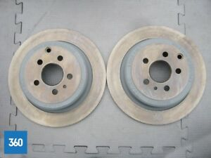 NEW GENUINE FIAT ULYSSE ZETA 806 SYNERGIE REAR BRAKE DISCS PAIR 9566928380