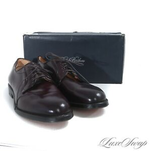 NIB #1 MENSWEAR Brooks Brothers Made USA Alden #8 Shell Cordovan 00035 Shoes 13