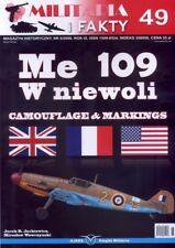 CAPTURED ME 109 AIRCRAFT CAMOUFLAGE & MARKINGS