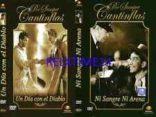 2 Dvd Un Dia Con El Diablo & Ni Sangre Ni Arena New Dvd's