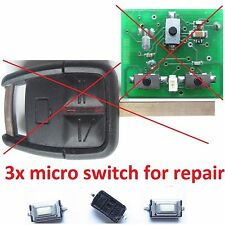 micro switch repair remote key fob opel vauxhall holden omega vectra signum