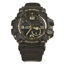 Casio G-Shock GG-1000GB-1A Master of G Mudmaster Watch Black/Gold Fast Shipping