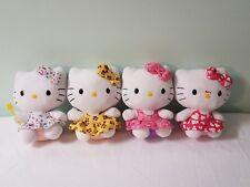 LOT OF 4 Ty Hello Kitty Beanie Baby  Sanrio Plush .etc