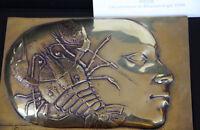 Pierre-Yves Tremois Sculpture Bronze poli crustacé Femme signé numéroté 1988 *