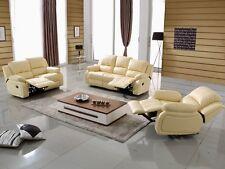Leder Relax TV-Sofa Relaxsofa Relaxsessel Fernsehsessel 5129-3+2+1-317