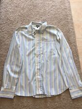 D&G BY DOLCE AND GABBANA STRIPED BUTTON UP SHIRT