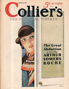 1932 Colliers October 8 - George M Cohan; Women are never satisfied - Babe Ruth