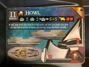 Howl LE 200 | Pirates of Davy Jones' Curse | WizKids Limited Edition Tournament
