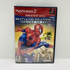 Spider-Man: Friend or Foe (Sony PlayStation 2, 2007)PS2 CIB W/ Manual - Tested