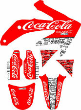05-08 CRF450 Graphic Kit Shroud Plastic Decals CRF 450 450R Crf450R decal MX