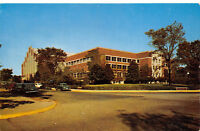 Lafayette Indiana 1950s Postcard Purdue university Field House & Gymnasium