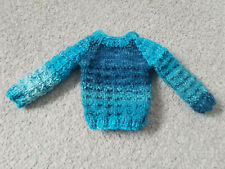 Blue knitted jumper Iplehouse FID Raccoondoll MSD BJD doll new 1/4