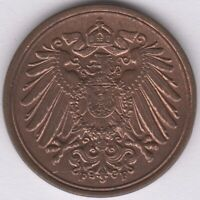 1898 F Germany Empire Pfennig | European Coins | Pennies2Pounds