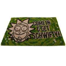 Rick and Morty Doormat Schwifty | OFFICIAL