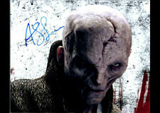 ANDY SERKIS SNOKE STAR WARS AUTOGRAPHED ART PRINT POSTER REPRINT