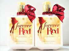 Bath Body Works FOREVER RED Body Lotion, 10 fl oz, NEW, x 2