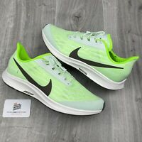 NIKE AIR ZOOM PEGASUS 36 FLYEASE RUNNING GREEN WHITE UK 10.5 EU 45.5 US 11.5 NEW