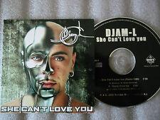 CD-DJAM L-SHE CAN'T LOVE YOU-GOTTA GIVIN'UP-ALIAS L.J-(CD SINGLE)2000-2TRACK