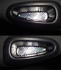 Peugeot 206 2 tappetini stile alluminio per maniglie TUNING