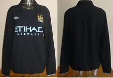Manchester City 2010/11 Training tracksuit drill top football shirt Used Umbro