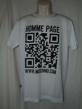 """Moschino """"Homme Page"""" Men's T-shirt size 52"""