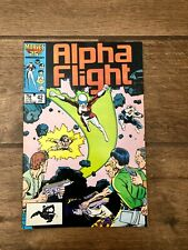 Alpha Flight Marvel Comic Book #42 March 1987 VF