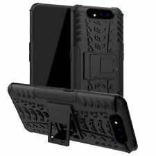 For Samsung Galaxy A80 Case AMZER Warrior Dual Layer Cover with Stand